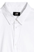 Short-sleeved shirt Slim fit - White -  | H&M 3